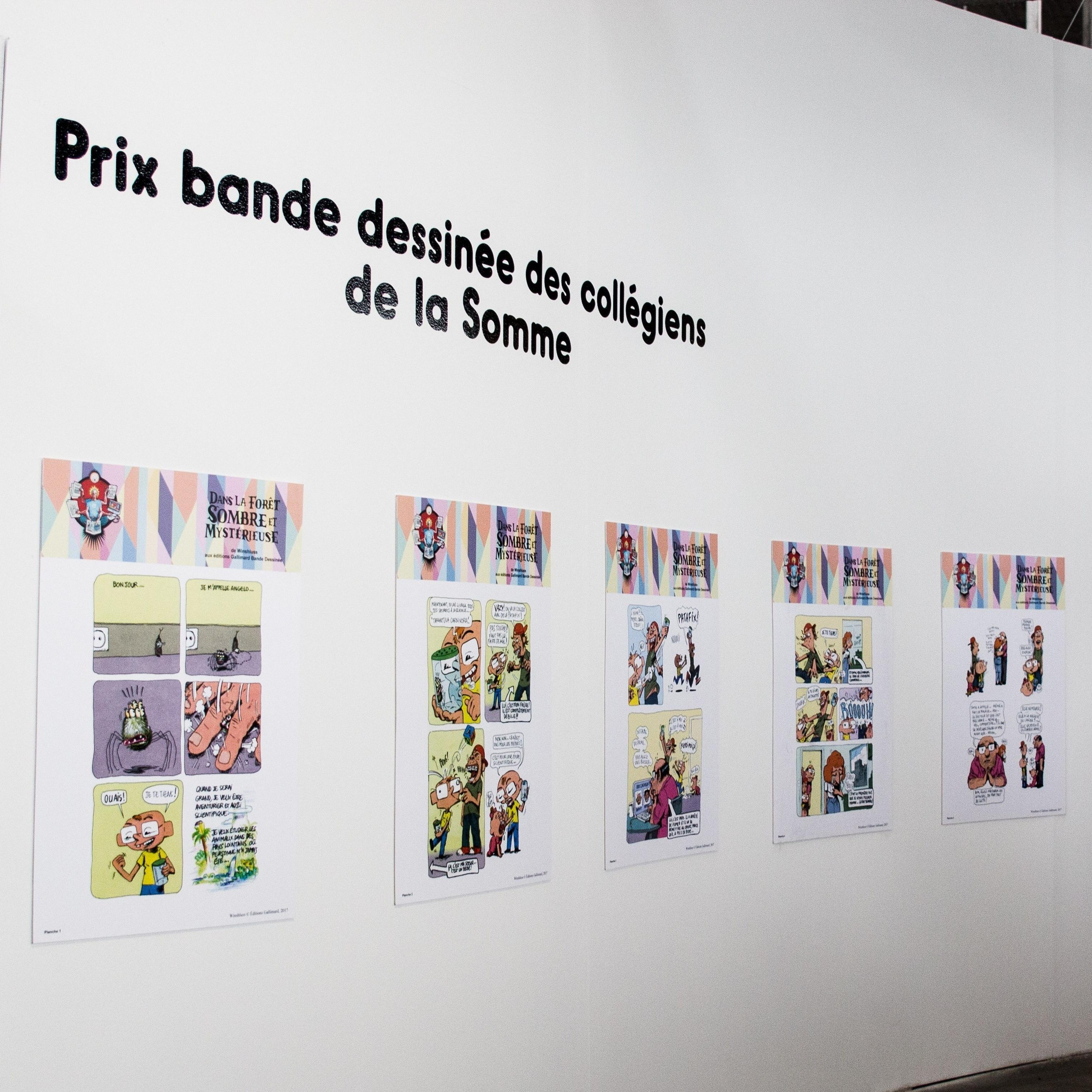 Les expositions des projets éducatifs et des étudiants