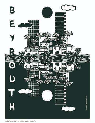 Affiche de Beyrouth