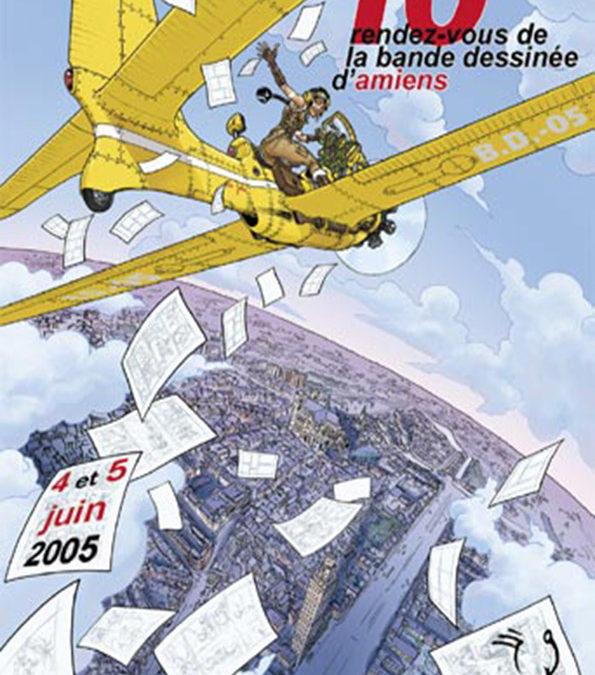 Les Rendez-Vous de la Bande Dessinée d'Amiens – Édition 2005