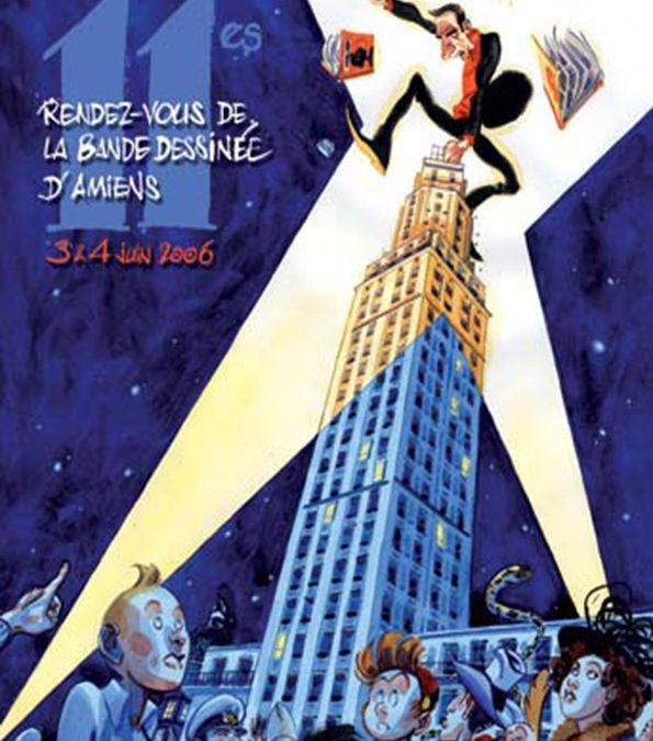 Les Rendez-Vous de la Bande Dessinée d'Amiens – Édition 2006