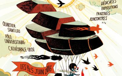 Les Rendez-Vous de la Bande Dessinée d'Amiens – Édition 2016