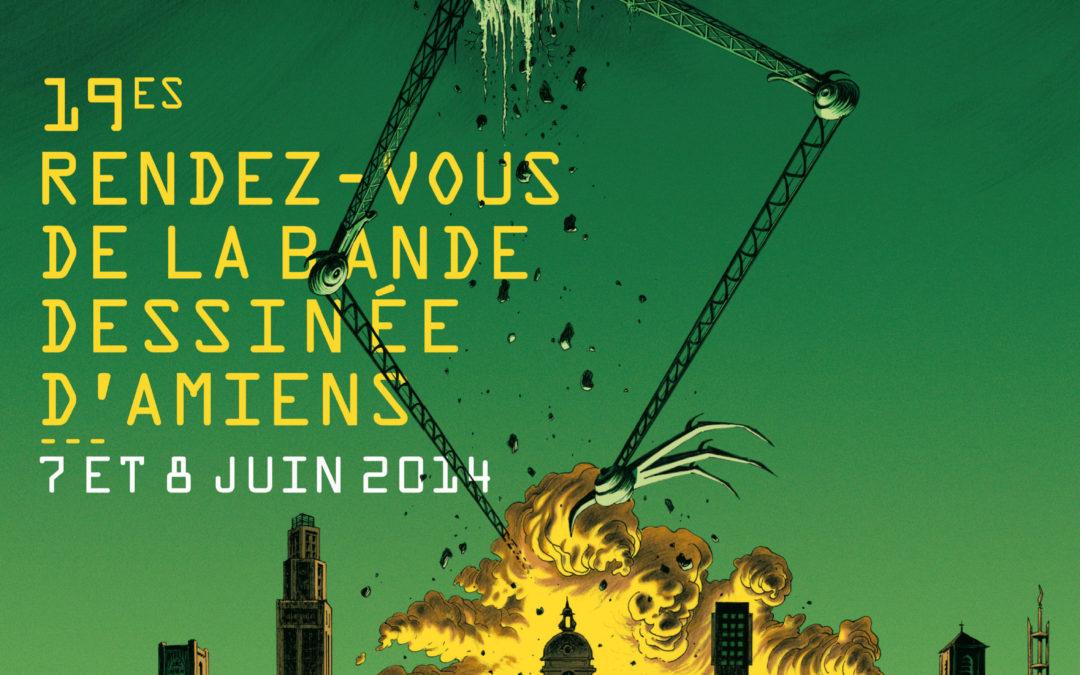 Les Rendez-Vous de la Bande Dessinée d'Amiens – Édition 2014