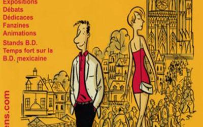 Les Rendez-Vous de la Bande Dessinée d'Amiens – Édition 2001