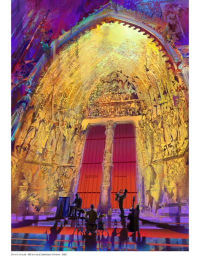 Affiche Cathédrale