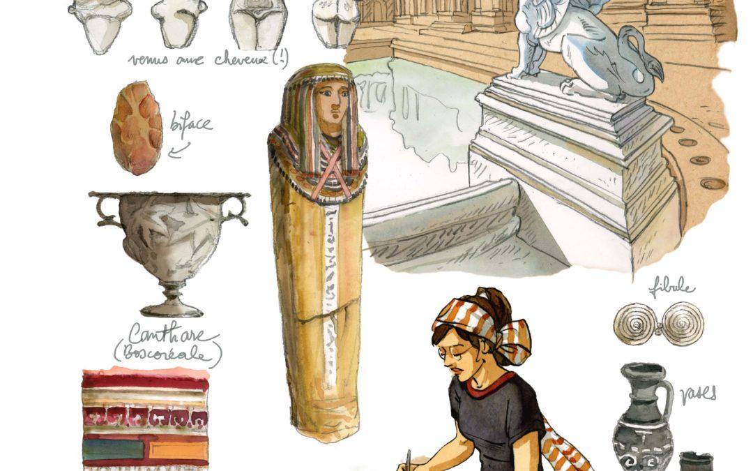 Chasseurs de trésors, archéologie et bande dessinée