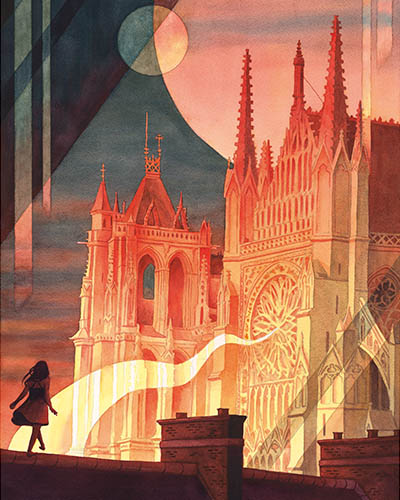 Le 9e Art dessine la Cathédrale d'Amiens